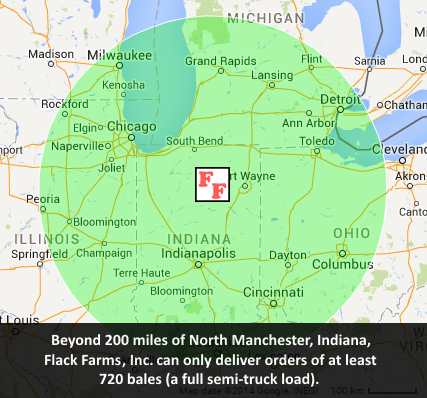 North Manchester Indiana Map.Quote Request Flack Farms Inc